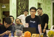 Thầy giáo giúp MC Phan Anh xây dựng bản đồ cứu trợ