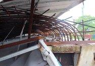 Thái Nguyên: Thực hư thông tin bức phác thảo phù điêu tại quảng trường Võ Nguyên Giáp bị gió bão quật đổ