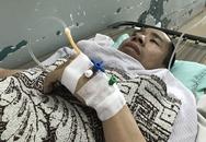 Anh Đức trong cặp song sinh Việt - Đức nhập viện cấp cứu