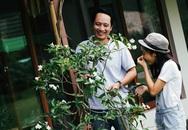 Gia đình Mỹ Linh bình yên trong khu vườn ngập tràn sắc hoa ở ngoại ô