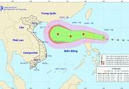 Thêm cơn bão mới gần Biển Đông