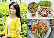 Nàng dâu 8X xả stress bằng sở thích nấu nướng