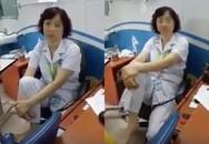 Lập hội đồng xử lý vi phạm vụ bác sĩ BV Mắt Trung ương gác chân lên ghế khám bệnh