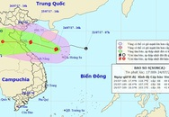 Tin mới nhất về cơn bão số 4 gió cấp 8 vào miền Trung