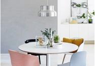 Những bộ bàn ăn màu pastel khiến bạn ngẩn ngơ ngắm mãi