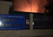 Cháy kho chứa 3.000 tấn bông sợi nghi do chập điện