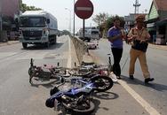 Chạy xe đạp điện lên quốc lộ, 4 nữ sinh lớp 10 gặp nạn