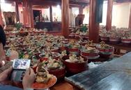 Choáng với lễ cúng rằm tháng Giêng cả trăm mâm xôi gà ở Nghệ An
