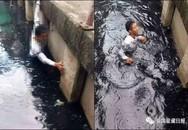 Chụp hình, live stream người đang chết đuối mà không cứu