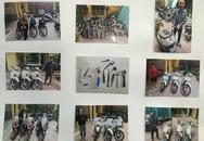 Triệt phá nhiều đường dây trộm cắp hàng trăm  xe máy tại Hà Nội