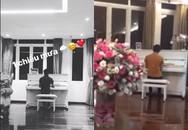 Cường Đô La chơi đàn piano tặng bạn gái mới Đàm Thu Trang