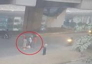 Thanh niên ngã dưới đường sắt trên cao khai do xe máy tông