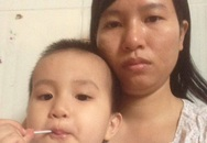 Bố phụ hồ, mẹ làm thuê, bé gái hơn 2 tuổi bị ung thư máu