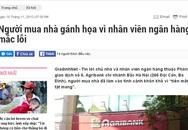 """Tiếp bài """"Người mua nhà gánh họa vì nhân viên ngân hàng mắc lỗi"""": Ngân hàng Nhà nước chi nhánh Hà Nội vào cuộc"""