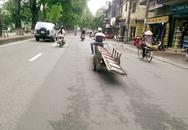 Xe tự chế chạy tràn trên phố Hà Nội