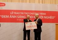 """Dai- ichi life tài trợ 1,2 tỷ đồng cho chương trình phẫu thuật """"Đem ánh sáng cho người nghèo"""""""