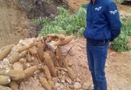 """Phát hiện hầm đạn pháo """"khủng"""" ở Quảng Ninh"""