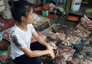 Cô chủ bán thịt kể lại phút bị đổ dầu luyn lên người