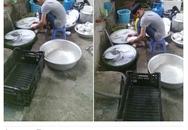 Đi ăn cỗ, chàng trai một mình rửa 6 mâm bát đĩa vì bạn gái đau tay