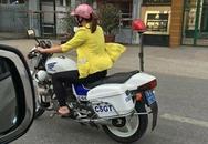 Điều tra vụ người mặc đồ dân sự điều khiển xe nghiệp vụ CSGT