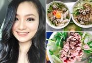 Diệu Hương bật mí quán ăn sáng 'nhìn thôi cũng thèm' ở Hà Nội