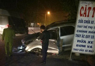 Quảng Ninh: Nhiều ô tô bất ngờ đâm vào dải phân cách giữa đường