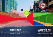 Đường Kim Mã thu hẹp còn 3 m, cấm ôtô để thi công metro Hà Nội