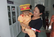 Ngày giáp Tết của những em bé ung thư ở viện