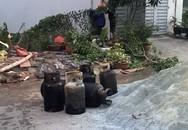 Cháy nổ trong căn nhà chứa hàng chục bình gas ở Sài Gòn
