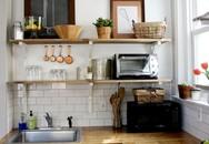 4 cách sắp xếp cho nhà bếp nhỏ trở nên gọn gàng, ấm cúng