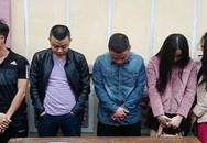 """5 nam nữ thanh niên """"phê"""" ma túy trong nhà nghỉ"""