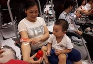 Ngày hội Giọt hồng tri ân 2017: Mang con cùng đi hiến máu