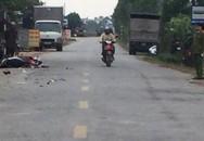 Hải Dương: Va chạm với xe tải, phó trưởng thôn chết thảm