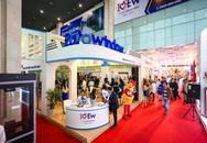 Khu trưng bày sản phẩm Eurowindow thu hút khách tại Vietbuild Hà Nội 2017