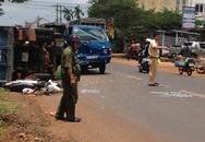 Bé trai 12 tháng tuổi bị xe tải tông tử vong
