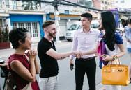 Công Vinh, Thuỷ Tiên ghi hình cho kênh truyền hình nước ngoài