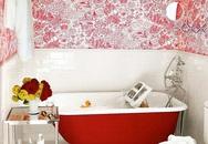 8 phòng tắm sắc màu khiến ai cũng ưng con mắt mỗi khi bước vào