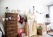 Biến tấu phòng ngủ của bé theo phong cách vintage khiến con mê mẩn
