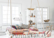 Bỏ kiểu giường truyền thống đi, những mẫu giường treo lơ lửng độc đáo này mới là thứ dành cho nhà hiện đại