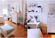 Chỉ là căn hộ thuê nhưng cô gái trẻ vẫn bỏ tiền sửa sang khiến góc nhà nào cũng đẹp