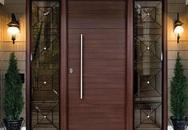 Nếu làm nhà bạn không thể bỏ qua những cánh cửa gỗ kiểu dáng thanh lịch này