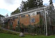 Chống lạnh bằng hệ thống kính bao quanh, đôi vợ chồng biến ngôi nhà thành sản phẩm thiết kế độc đáo