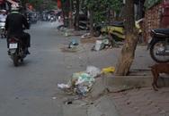 Hà Nội: Rác vẫn tràn ra phố bất chấp quy định phạt tiền triệu