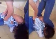Nữ sinh cấp 2 ở Hải Dương đánh nhau lột đồ trong lớp học