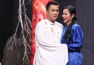 Việt Trinh khóc nấc khi diễn kịch cùng Lý Hùng