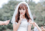 Nam sinh Bắc Ninh mặc váy cô dâu xinh đẹp như con gái