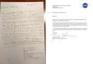 Cậu bé 9 tuổi quyết tâm xin việc ở NASA, lá thư hồi đáp của cơ quan này khiến ai cũng bất ngờ