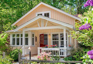 Cần gì nhà to, chỉ cần căn nhà nhỏ xinh yêu như này là quá đủ