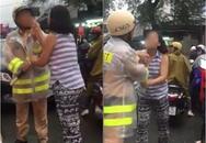 """Người phụ nữ túm áo, chửi bới CSGT ở Sài Gòn: """"Tôi không muốn thanh minh, cứ để mọi người bình luận"""""""