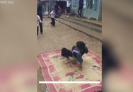 Học sinh dân tộc nhảy hiphop như vũ công chuyên nghiệp
